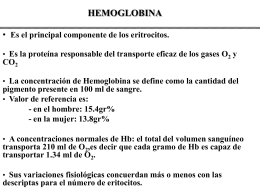 HEMOGLOBINA - .:: GEOCITIES.ws
