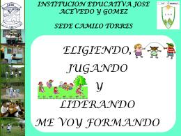 Diapositiva 1 - Fundación Escuela Nueva