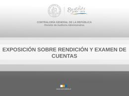 Diapositiva 1 - Contraloría General de la