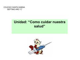 """COLEGIO SANTA SABINA SEPTIMO AÑO """"C"""""""