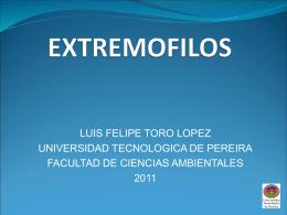 EXTREMOFILOS - El Blog de Bioquímica y