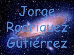 Jorge Rodríguez Gutiérrez
