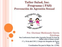 Programa Prevención de Agresión Sexual