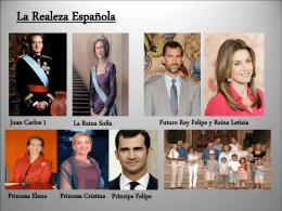 La Realeza Española