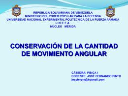 REPÚBLICA BOLIVARIANA DE VENEZUELA MINISTERIO DEL