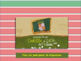 Diapositiva 1 - Concurso Día de Castilla y León en