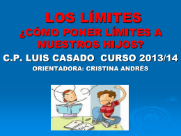 LOS LÍMITES - C.E.I.P. LUIS CASADO