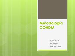 Metodología OOHDM
