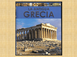 EL MUNDO GRIEGO - 3º CICLO DE E. PRIMARIA