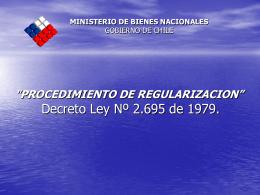 `PROGRAMA SANEAMIENTO DE TÍTULOS DE DOMINIO, CON