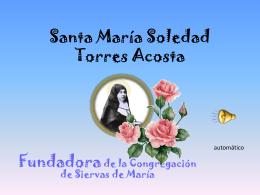 Santa María Soledad - Siervas de Maria Colombia