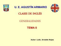 CLASES DE INGLÉS - C C B SANTA CRUZ | Liceo