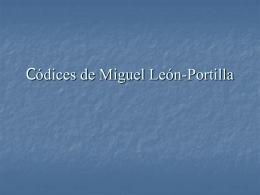 Códices de Miguel León