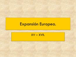 Expansión europea. - Colegio San Juan Evangelista
