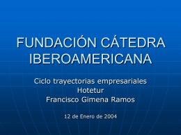 FUNDACIÓN CATEDRA AMERICANA
