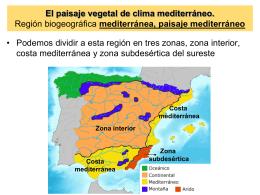 Factores que influyen en la vegetación