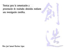 Diapositiva 1 - Grupo Emergente de Investigación