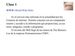 CURSO DE PÁGINAS WEB