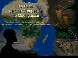Oración de una Campesina de Madagascar