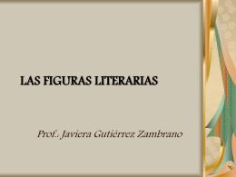 LAS FIGURAS LITERARIAS - Universidad de Concepción