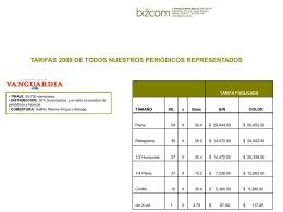Diapositiva 1 - Padrón Nacional de Medios y