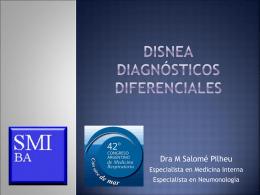 Disnea Diagnósticos Diferenciales