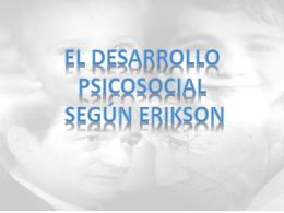 El desarrollo psicosocial según Erickson