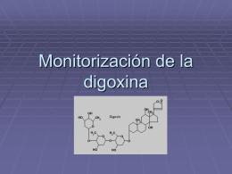 Monitorización de la digoxina