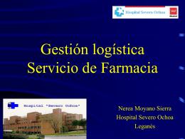 Gestión logística - SEFH: Sociedad Española de