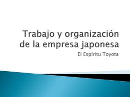 El Espíritu Toyota