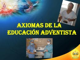 Diapositiva 1 - EDUCACIÓN ADVENTISTA DE LA MISIÓN