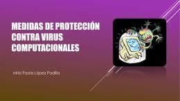 Medidas de protección contra virus computacionales