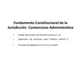 Fundamento en la Constitución Política