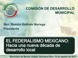 MUNICIPIO, REFORMA POLÍTICA Y PERSPECTIVAS PARA EL