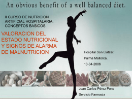 Diapositiva 1 - SEFH: Sociedad Española de