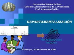 Universidad Simón Bolívar Cátedra: Supervisión de