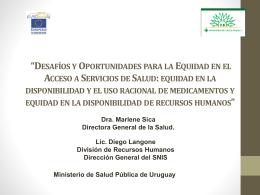 """Encuentro """"Desafíos y Oportunidades para la"""