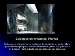 Zoológico en vincennes, Francia
