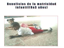DIMENSIÓN: EDUCACIÓN Y DESARROLLO DE LA MOTRICIDAD