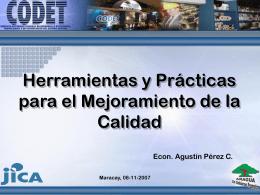 Diapositiva 1 - .:CODET:. Servicio Autóo