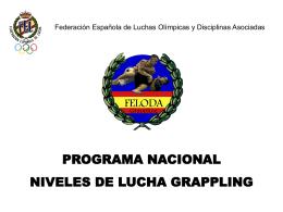 Diapositiva 1 - Federación española de luchas