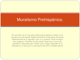 Muralismo Prehispánico.