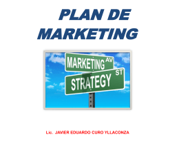 Presentación Plan de Marketing