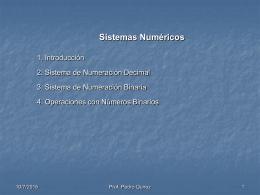 Sistemas Numéricos - Ingenieros de Redes y