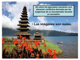 Demandas de un secuestrador y resolución japonesa