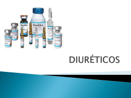 DIURÉTICOS - Farmaco2 Dr:Matamoros