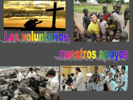 El grupo de voluntarios de Cáritas lo forman