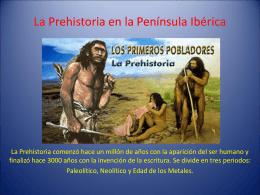 De la Prehistoria a la Edad Media