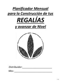 Planificador Herbalife Mensual para la