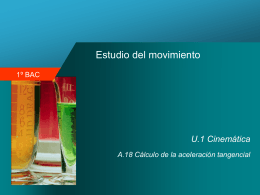 Movimiento curvilíneo - Blog de Física y Química